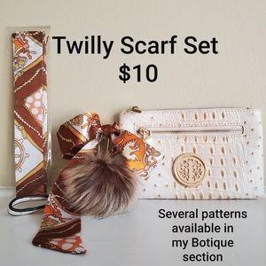 Twilly scarf set